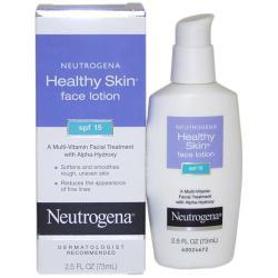 Neutrogena Healthy Skin 2.5-ounce SPF 15 Face Lotion