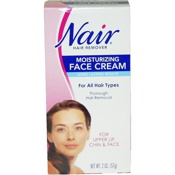 Nair 2-ounce Hair Removal Cream for Upper Lip, Chin and Face 8381629