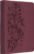 Holy Bible: English Standard Version, Trutone, Ruby, Bloom Design (Paperback)