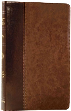 The Holy Bible: English Standard Version, Brown / Saddle, TruTone, Timeless Design, Verse-by-Verse Reference Bible (Paperback)