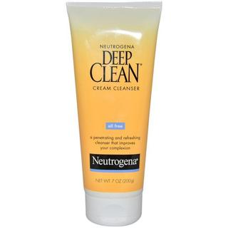 Neutrogena 7-ounce Deep Clean Cream Cleanser