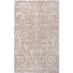 nuLOOM Handmade Marrakesh Damask Wool Rug (5' x 8')