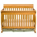 DaVinci Kalani 4-in-1 Crib with Toddler Rail in Honey Oak