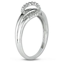 10k White Gold 1/6ct TDW Diamond  Ring (G-H, I2-I3)