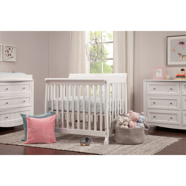 Kalani 2-in-1 Mini Crib and Twin Bed