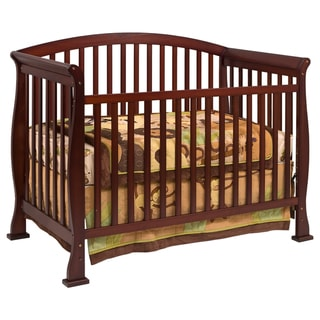 DaVinci Thompson 4-in-1 Convertible Crib with Toddler Rail in Coffee