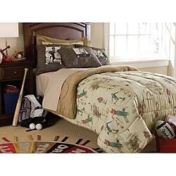 Varsity Twin-size 3-piece Comforter Set