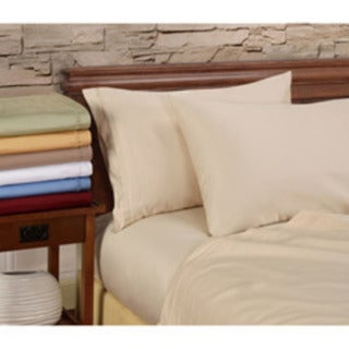 Luxor Treasures Egyptian Cotton 1000 Thread Count Solid 4-piece Sheet Set (As Is Item)