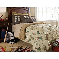 Varsity Full-size 4-piece Comforter Set