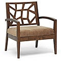 Jennifer Wooden Modern Lounge Chair