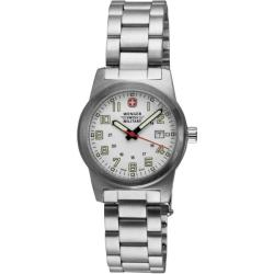 Wenger Women's 'Classic Field' White Dial Watch