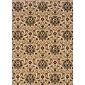 Berkley Beige/ Gold Traditional Area Rug (5'3 x 7'6)