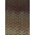 Messina Black/ Tan Transitional Area Rug (7'8 x 10'10)