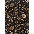 Messina Brown/ Ivory Transitional Area Rug (7'8 x 10'10)