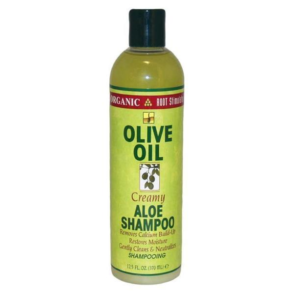 Organic Olive Oil Creamy 12.5-ounce Aloe Shampoo