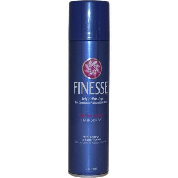 Finesse Self Adjusting Extra Hold 7-ounce Hair Spray