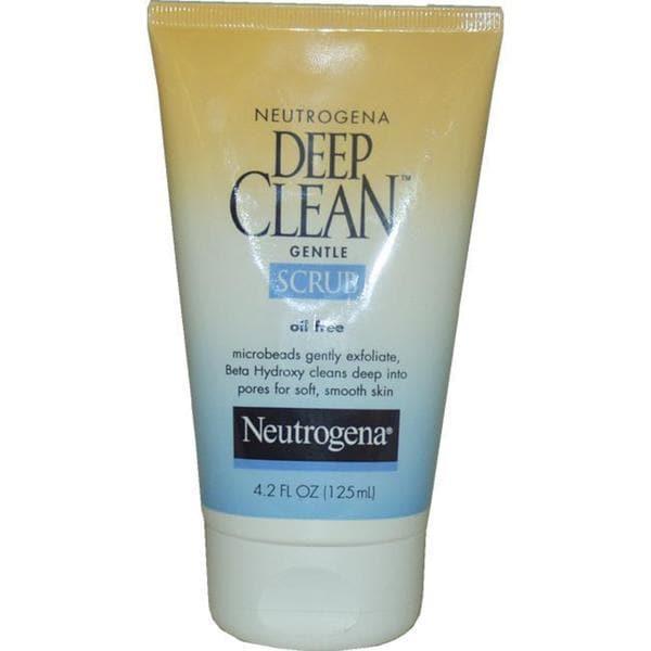 Neutrogena Oil Free Deep Clean 4.2-ounce Gentle Scrub