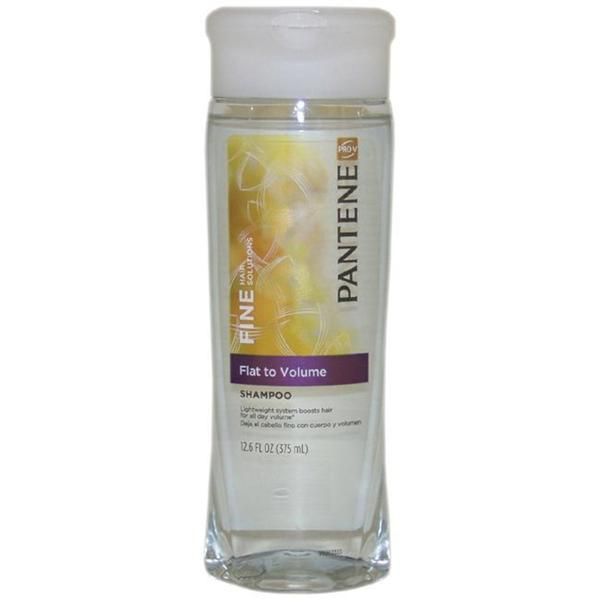 Pantene Pro-V Fine Hair Solutions Flat to Volume 12.6-ounce Shampoo