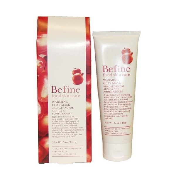 Befine Cardamom Arnica Pomegranate 5-ounce Warming Clay Mask