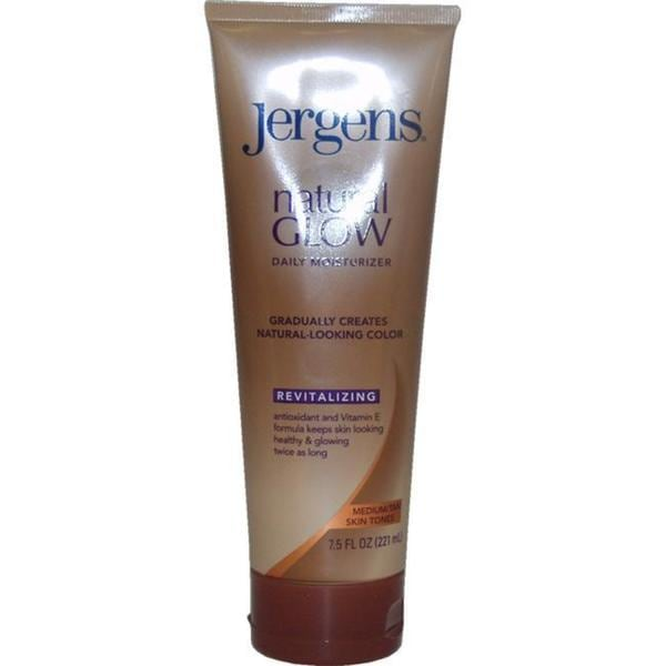 Jergens Natural Glow Revitalizing Medium Tan 7.5-ounce Daily Moisturizer