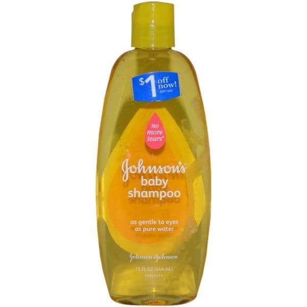 Johnson & Johnson No More Tears 15-ounce Johnson's Baby Shampoo