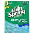 Irish Spring 'Clean Scrub' 4-ounce Deodorant Soap (Pack of 8)