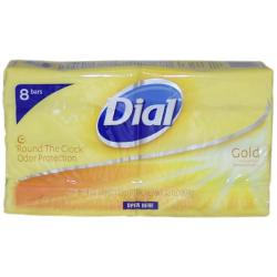 Dial Gold Antibacterial Deodorant Soap 4-ounce (Set of 8)
