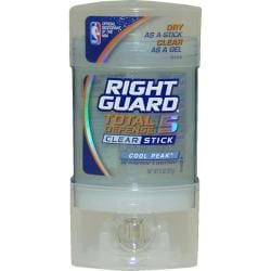 Right Guard Total Defense 5 Clear Stick 2-ounce Anti-perspirant Deodorant Cool Peak