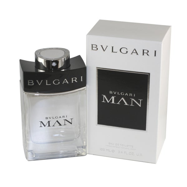Bvlgari Man 3.4-ounce Eau de Toilette Spray