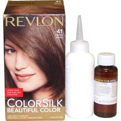 Revlon ColorSilk Beautiful Color #41 Medium Brown Hair Color