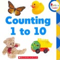 Counting 1 to 10 (Board book)