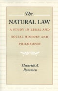 The Natural Law: A Study in Legal and Social History and Philosophy (Paperback)