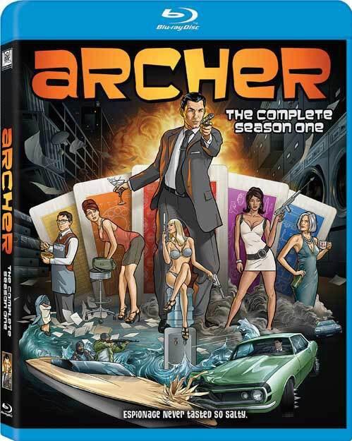 Archer: Season 1 (Blu-ray Disc)