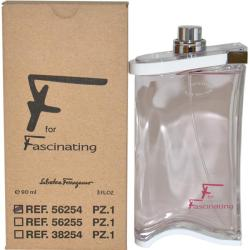 Salvatore Ferragamo Women's 'F for Fascinating' 3-ounce Eau de Toilette Spray (Tester)