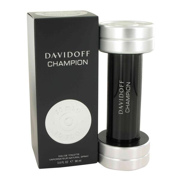 Davidoff Davidoff Champion Men's 3-ounce Eau de Toilette Spray