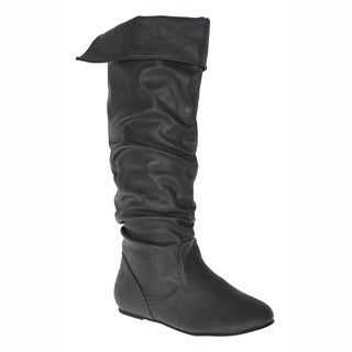 Story Women's 'Cookie' Grey Knee-high Boots