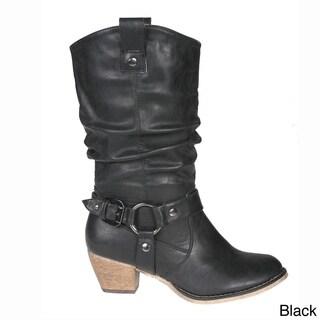 Story Women's 'Wild' Mid-calf Cowboy Boots