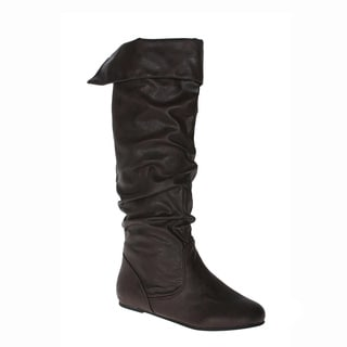 Story Women's 'Cookie' Brown Knee-high Boots