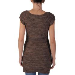 Ci Sono by Adi Junior's Scoop Neck Short-sleeve Sweater Tunic