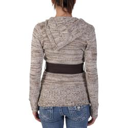 Ci Sono by Adi Juniors Split Turtleneck Tunic Sweater
