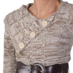 Ci Sono by Adi Juniors Split Turtleneck Tunic Sweater