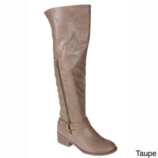 Story Women's 'Colin' Knee-high Motorcycle Boots