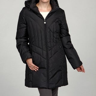 Mackintosh Women's Down Removable Hood Coat