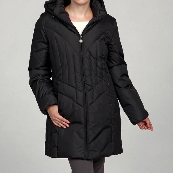 Mackintosh Women's Down Removable Hood Coat