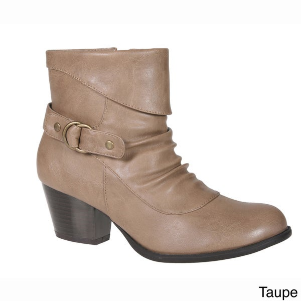 Story Women's Round Toe Ankle Bootie