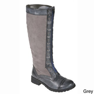 Story Women's Motorcycle Knee High Boots