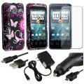 Case/ Screen Protector/ Chargers/ USB Cable for HTC EVO Shift 4G