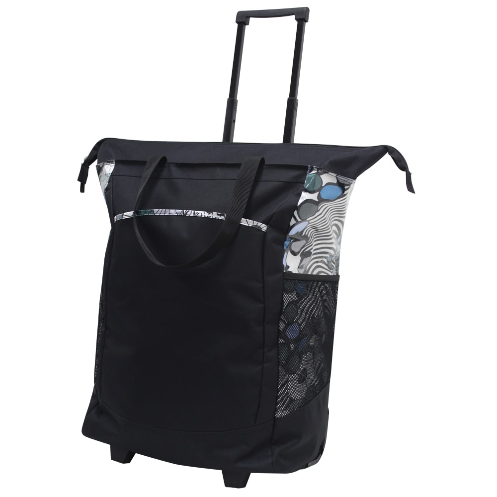 G Pacific by Traveler's Choice 20-inch Leak-proof Rolling Shopper Tote