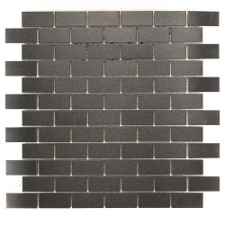 ICL Urban Metal Mosaic Tiles (Pack of 11)