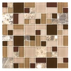 ICL Random Marble Mix Tiles (Pack of 11)